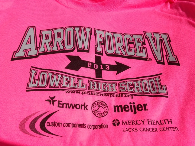 Pink Arrow VI Shirt